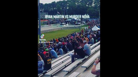 Ryan Martin vs Murder Nova Grudge Race No Prep Kings Cordova Dragway #shorts
