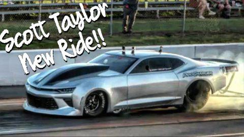 Scott Taylor's New Ride Procharged Camaro