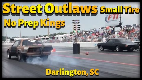 Street Outlaws 2021, No Prep Kings - Darlington, SC, Small Tire Saturday