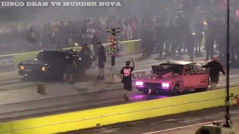 Street Outlaws 2021 No Prep Kings - Round 2 Disco Dean vs Murda nova - Texas Motorplex