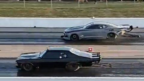Street Outlaws 2021- Ryan Martin vs Murder nova, Tulsa No Prep Kings