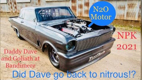 Street Outlaws NPK Bandimere! Daddy Dave brings Goliath back out for the first time since the crash!