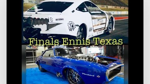 Street Outlaws NPK Ennis Texas Final round for $40,000 (Justin Swanstrom vs Robin Roberts) #shorts