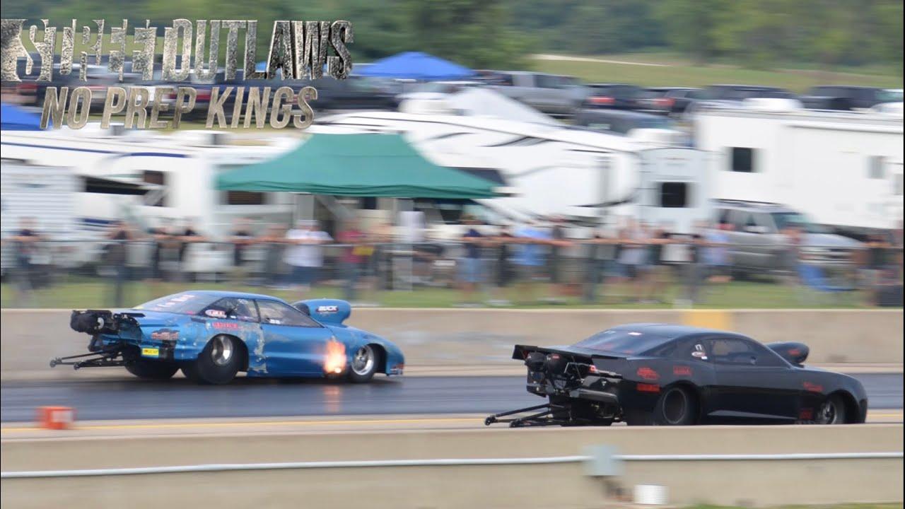 Street Outlaws No Prep Kings Grudge Racing at Cordova