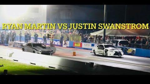 Street outlaws NPK Belle Rose La. Ryan Martin vs Justin Swanstrom round 3 invitational #noprepkings