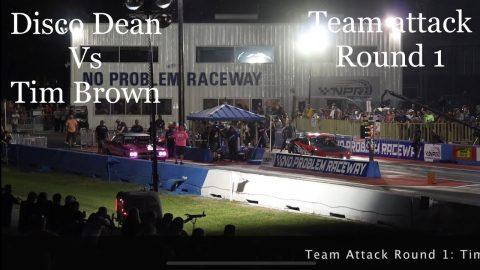 Street outlaws No pre Kings 2021- Belle Rose, LA. Disco Dean Vs Tim brown: Team attack round 1