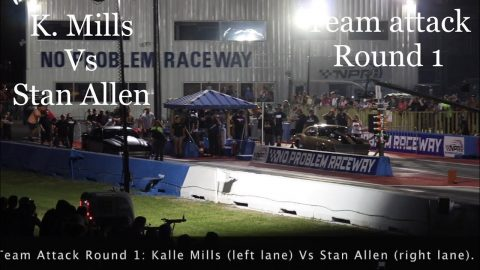 Street outlaws No prep kings 2021- Belle Rose, LA: Kalle Mills vs Stan Allen- Team attack Round 1