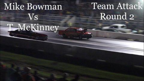Street outlaws No prep kings 2021- Belle Rose, LA. Mike Bowman Vs Tony McKinney; Team attack Round 2
