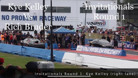 Street outlaws No prep kings Belle Rose, LA- Kye Kelley vs Rich Bruder. Invitationals Round 1