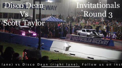 Street outlaws no prep kings Belle Rose, LA: Disco Dean vs Scott Taylor- Invitationals round 3