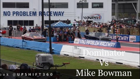 Street outlaws no prep kings Belle Rose, LA: Dominator vs Mike Bowman; Invitationals round 1