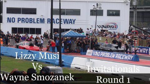 Street outlaws no prep kings Belle Rose, LA: Lizzy Musi vs Wayne Smozanek- invitationals Round 1