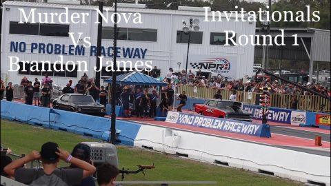 Street outlaws no prep kings Belle Rose, LA- Murder Nova vs Brandon James: invitationals round 1