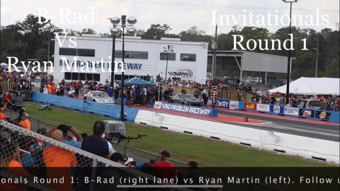 Street outlaws no prep kings; Belle Rose, LA: Ryan Martin Vs B-Rad- Invitationals Round 1