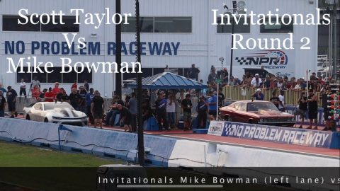 Street outlaws no prep kings Belle Rose, LA: Scott Taylor Vs Mike Bowman- Invitationals round 2