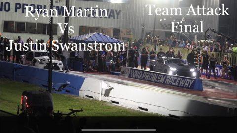 Street outlaws no prep kings- Belle Rose, LA. Team Attack Final; Ryan Martin Vs Justin Swanstrom.