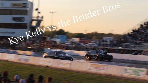 Street outlaws no prep kings Tulsa 2021 kye Kelley vs Bruder Brothers 3rd round invitationals