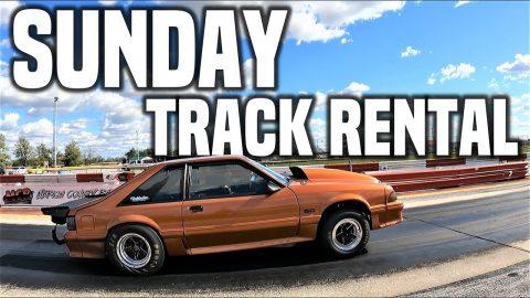 Sunday Track Rental