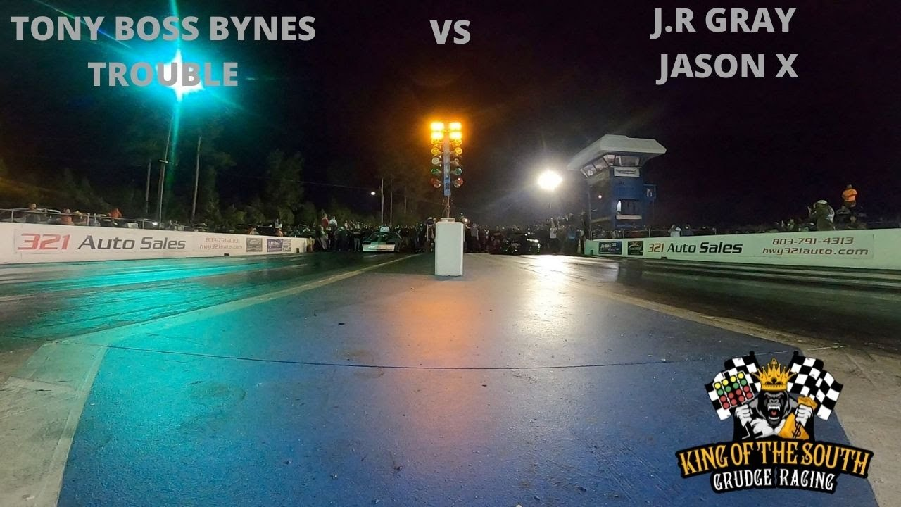TONY BOSS  BYNES (TROUBLE)  VS J.R GRAY  (JASON X) 1ST ROUND N/T SHOOTOUT | 2021 GRUDGE RACING