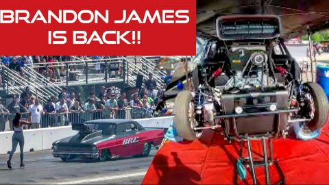 Team California's Brandon James is Back!!