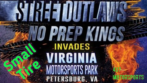 Turbo John goes rounds at Street Outlaws No Prep Kings in Small Tire at Virginia Motorsports Park