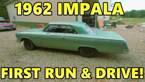 We Found a 1962 Impala 2Dr Hardtop! FIRST RUN & DRIVE In 15+ Years!
