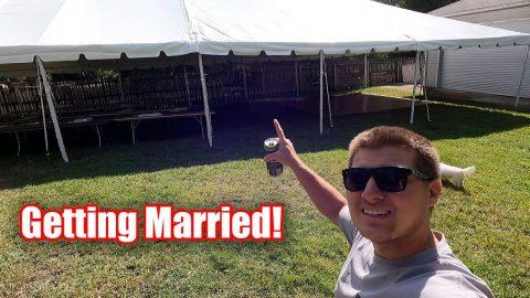 Wedding Day Prep! (Backyard Wedding)