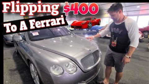 What $35,000 will buy at a Classic Car Auction - $400 Ferrari Flip - Flying Wheels