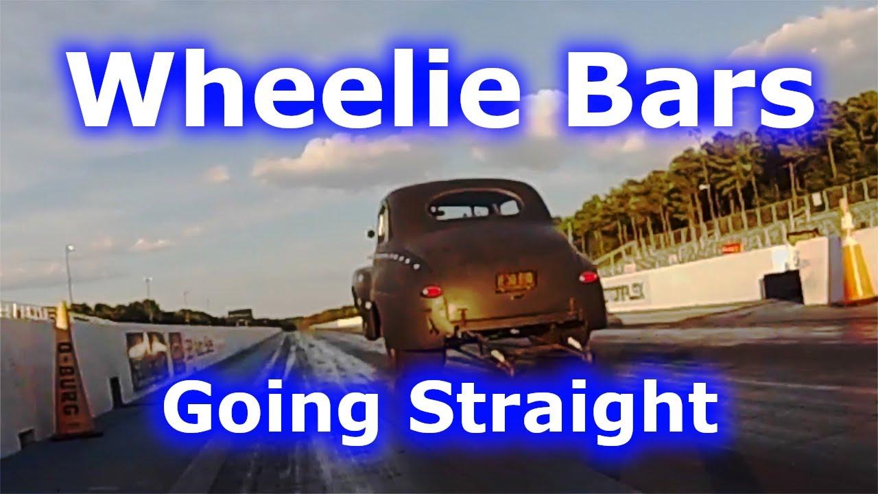 Wheelie Bar Stagger   Steering with Wheelie Bars   Coilovers & Wheelstands